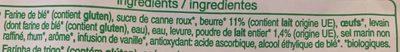 Pains au lait pur beurre - Ingrédients - fr