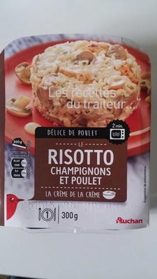 Risotto de Poulet aux Champignons - Auchan - 300 g