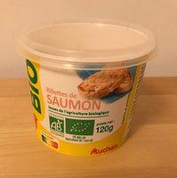 Bio rillette de saumon - Product