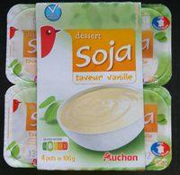 Creme dessert soja vanille - Produit