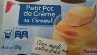 Petit pot de crème au caramel - Produit - fr