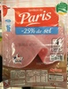 Jambon de Paris (-25% de sel) - Product