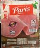 Jambon de Paris 4 tranches sans couenne - Producto
