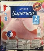 Jambon Supérieur (2 Tranches) Avec couenne - Product - fr