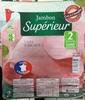 Jambon Supérieur - 2 Tranches - Sans couenne (100g) - Produit