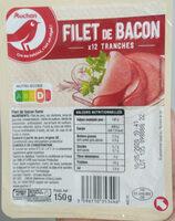 Filet de bacon fumé - Produit - fr