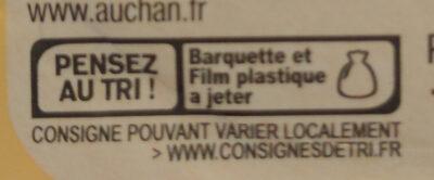 Filet de bacon fumé - Instruction de recyclage et/ou informations d'emballage - fr