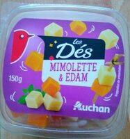 Les Dés mimolette & edam (24 % M.G.) - Produit - fr
