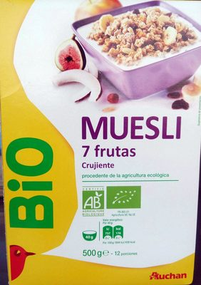 Muesli 7 fruits croustillant - Producte
