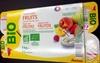 Yaourt aux fruits (fraise, pêche, poire, framboise) - Producto