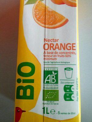 Nectar orange bio - Produit - fr