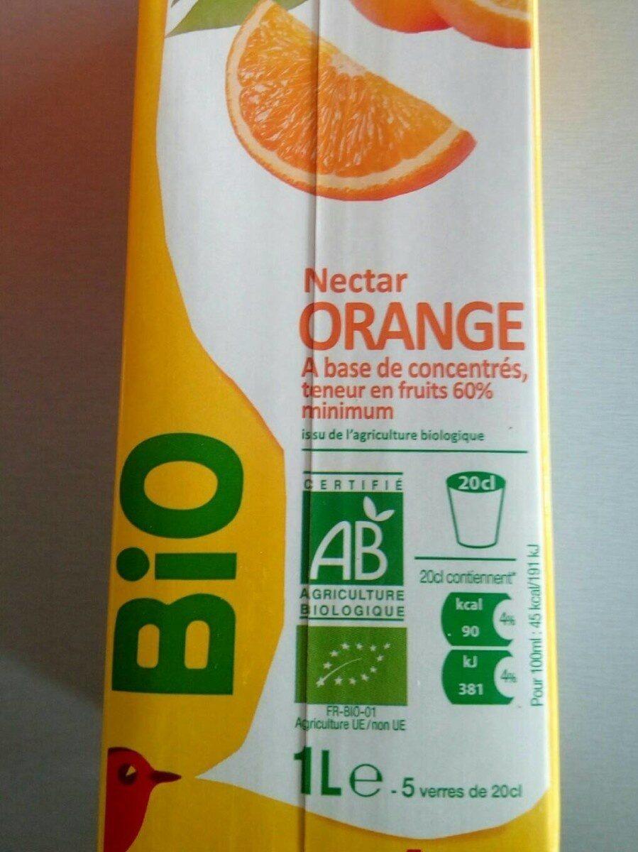Nectar orange bio - Product - fr