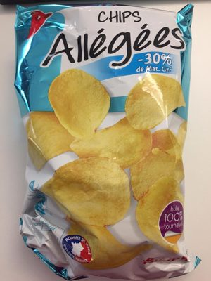 Chips allegees a l'huile de tournesol - Product