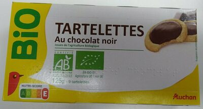 Tartelettes au chocolat noir - Produit