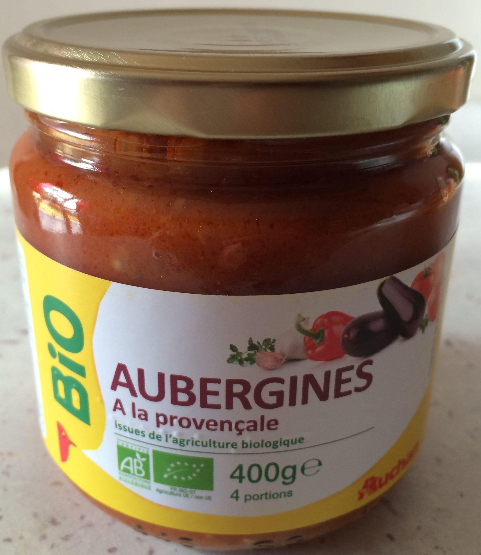 Aubergines à la Provençale Issues de l'Agriculture Biologique - Product - fr