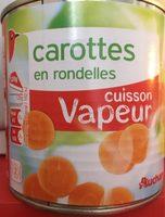 Carottes en rondelles vapeur - Produit