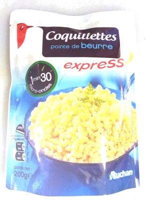 Coquillettes pointe de beurre express - Produit
