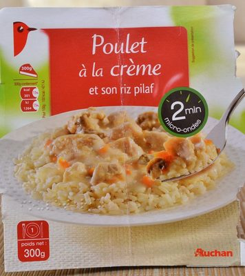 Poulet à la Crème et son Riz Pilaf - Product