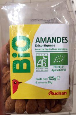 Amandes décortiquées bio - Produit - fr
