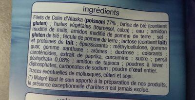 Colin d'Alaska façon meunière - Ingrédients - fr