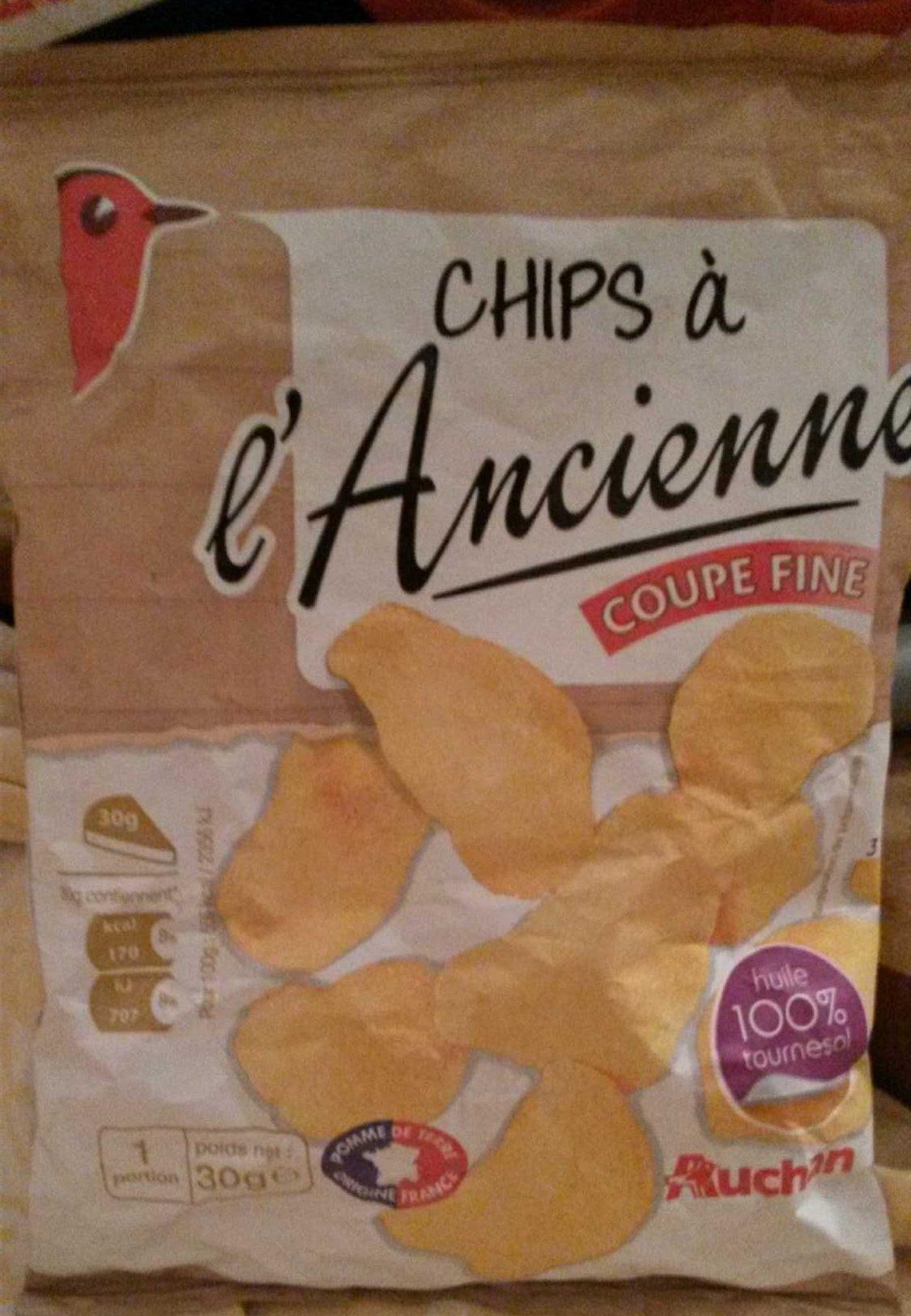 Chips à l'ancienne  coupe fine - Product - fr