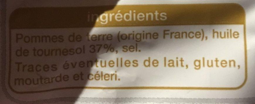 Chips à l'ancienne  coupe fine - Ingrediënten - fr