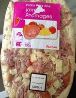 Pizza Pâte Fine Jambon fromages - Produit - fr