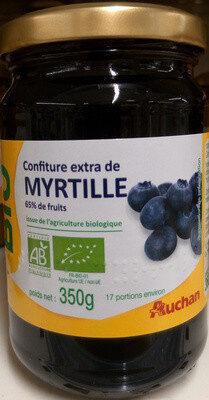 Confiture extra de myrtilles - Prodotto - fr