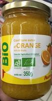 Confiture extra d'Orange bio - Product - fr