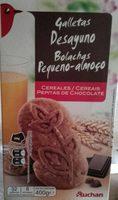 Biscuits petit déjeuner céréales pépites de chocolat - Product - fr