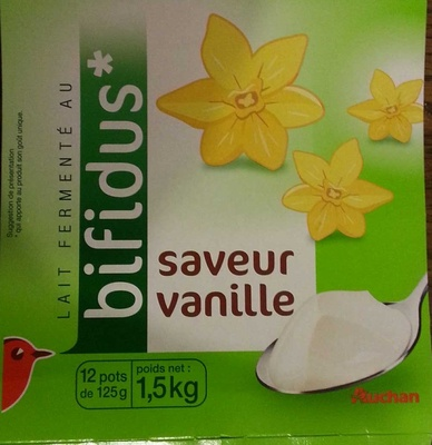 Lait fermenté au bifidus saveur vanille - Produit - fr