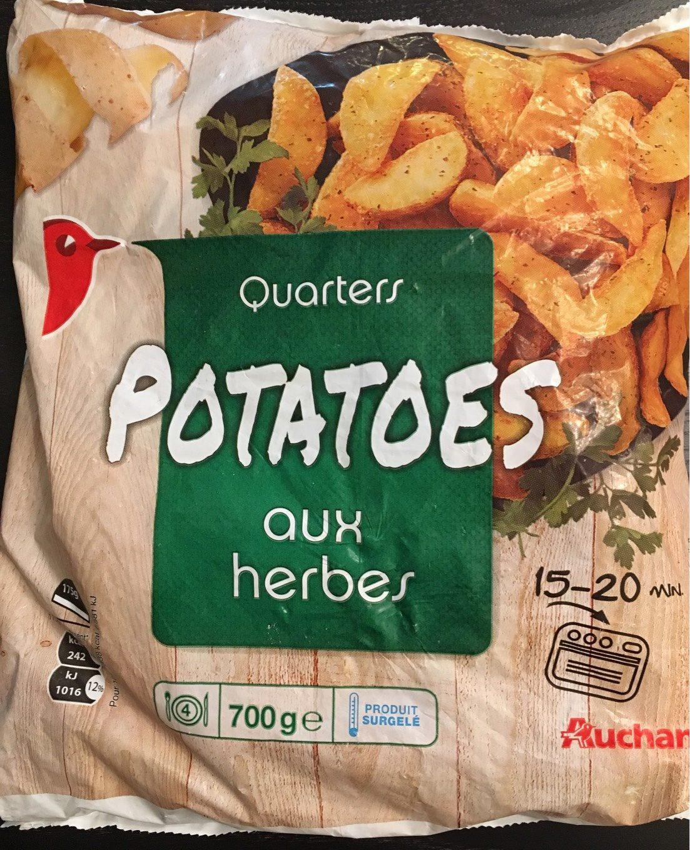 Quarters Potatoes - Product - fr