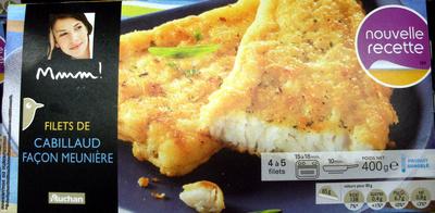 Filets de cabillaud façon meunière - 400 g - Produit
