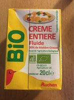 Crème entière fluide Bio (30 % MG) - Produit - fr