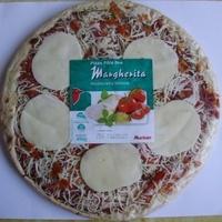 Pizza Pâte fine Margherita mozzarella tomate - Produit