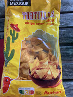 Tortillas chips huile de tournesol 2,10€ - Producto