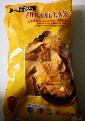 Tortillas chips saveur chili - Producto