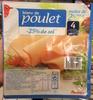 Blanc de poulet (-25% de sel) - Prodotto