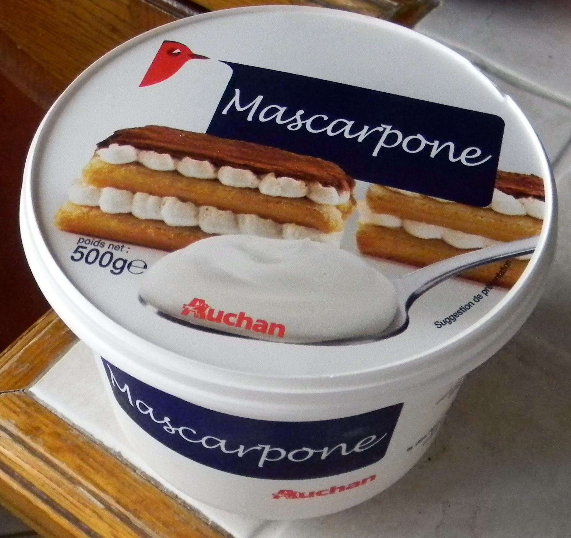 Mascarpone (35,5% MG) - Produit - fr