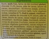 Mini Brownie aux Noisettes - Ingredients