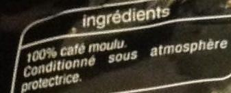Classique - Ingrediënten - fr