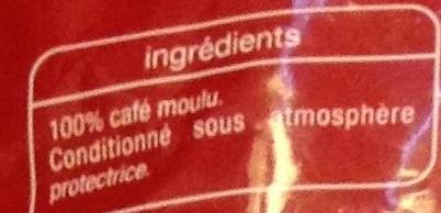Corsé - Ingrediënten - fr