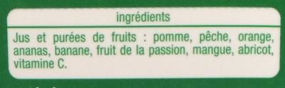 100% pur jus multifruits - Ingredienti - fr