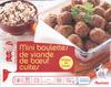 Mini boulettes de viandes de boeuf cuites - Product