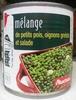 Mélange de petits pois, oignons grelots et salade - Produit