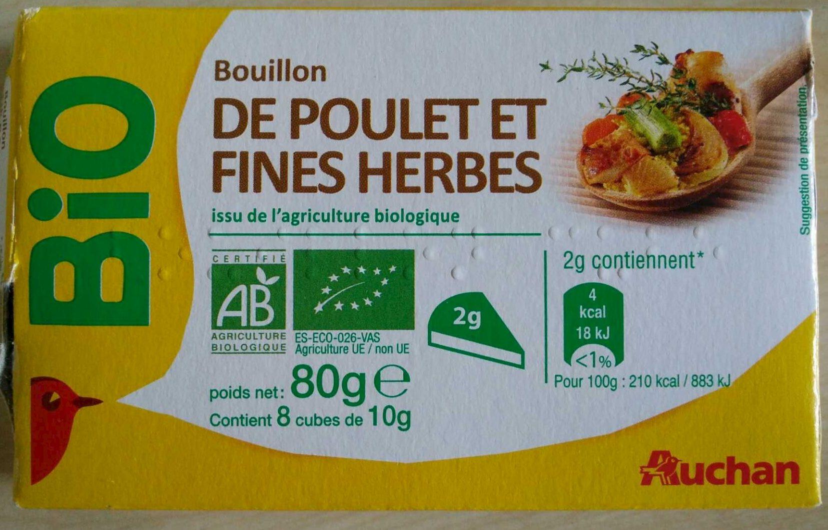 Bouillon de poulet et fines herbes - Product