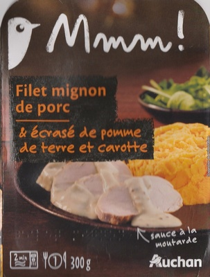Filet mignon de porc & écrasé de pomme de terre et carotte - Prodotto - fr