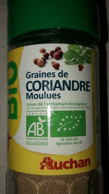 Bio coriandre moulue flacon verre - Produit
