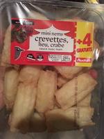 Mini nems crevettes, lieu, crabe - sauce nuoc nam - Product - fr