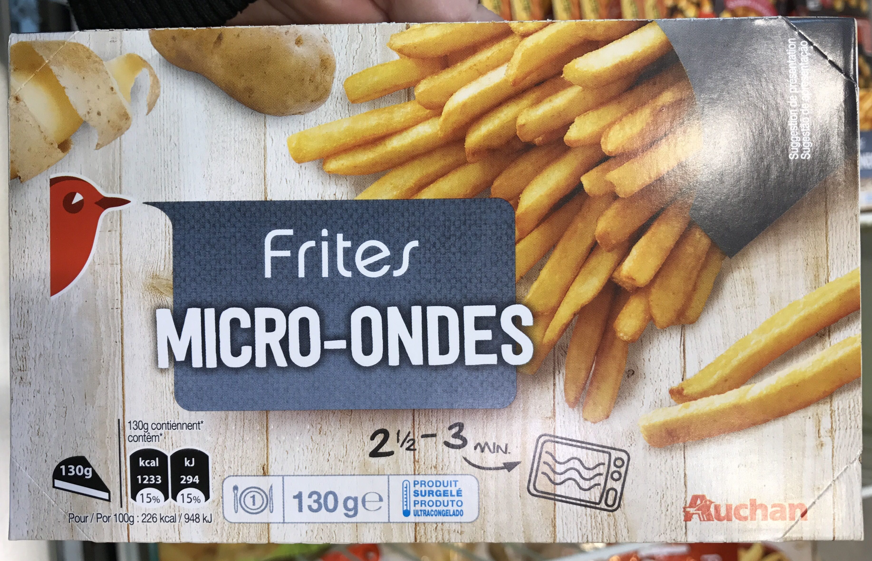 Frites Micro-Ondes - Producto
